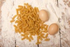 Spirals pasta Stock Photo