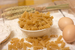 Spirals pasta Stock Photography
