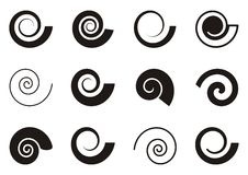 Spirals Stock Photography