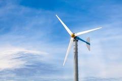 Spirals wind turbine Royalty Free Stock Photography