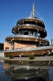 spiralt torn för utkik Fotografering för Bildbyråer