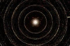 spiralt universum för galax Royaltyfri Foto