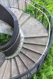 Spiraltrappuppgång Royaltyfria Bilder