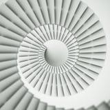 spirar台阶 免版税库存图片