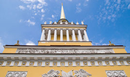 Spire of the Admiralty building Royalty Free Stock Image