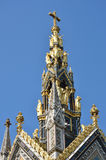 Spire of albert memorial london Royalty Free Stock Images