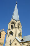 The Spire  The Cathedral of Saints Peter and Paul  Heat Royalty Free Stock Photos