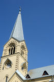 The Spire  The Cathedral of Saints Peter and Paul  July  Heat Stock Image