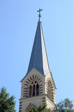 The Spire The Cathedral of Saints Peter and Paul. July. Summer Royalty Free Stock Photos