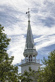 Spire of Christ Church, Duanesburg, NY Stock Image