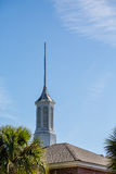 Spire on Cupola Royalty Free Stock Images