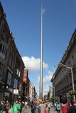 Spire of Dublin Royalty Free Stock Images
