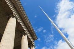 Spire of Dublin & Post Office Stock Photos