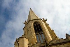 Spire för St Marys, York Arkivfoto