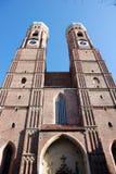 Spire frauenkirche Stock Images