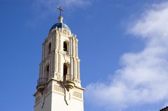 Spire of The Immaculata Church, University of Cali Royalty Free Stock Image