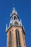 Spire of the Jozef Cathedral in Groningen Stock Photo