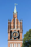 Spire of the Kaliningrad regional Philharmonic hall Royalty Free Stock Photography