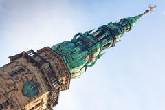 Spire Kronborg Castle Royalty Free Stock Image