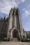 The spire of Marshall College, Aberdeen, UK Stock Images