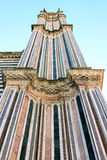 Spire of Orvieto Cathedral, Umbria, Italy Stock Image