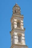Spire of Raimondello. Soleto. Puglia. Italy. stock photo