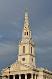 Spire and roof of st Martins Stock Photos