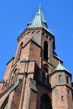 Spire of Skt Knuds, Catholic Church, Aarhus, Denmark Royalty Free Stock Photos