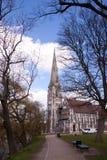 Spire, Sky, Landmark, Tree royalty free stock photography