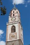 Spire St. Nikolaus in Meran Stock Images