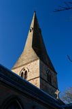 Spire of St Wilfrid's Church Royalty Free Stock Photos
