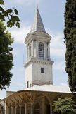 Spire at Topkapi Palace Istanbul Royalty Free Stock Photos