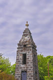 Spire of Tower in Brecon Beacons in South Wales Royalty Free Stock Photos