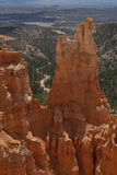 Spire Valley Bry. Spires along the park Valley Royalty Free Stock Photos