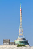 Spire of Vienna Fair Building Royalty Free Stock Images