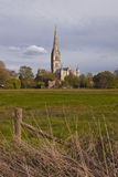 Spire of Wiltshire Stock Photo