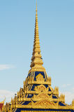 Spires of Cambodian Royal Palace Stock Photos