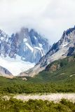 The 3 Spires of Cerro Torre Royalty Free Stock Photography