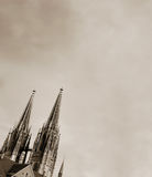 Spires of the Dom Royalty Free Stock Images