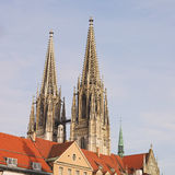 Spires of the Dom Stock Photos