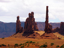 Spires in Monument Valley Stock Photo