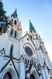 Spires on Ornate Church Royalty Free Stock Image