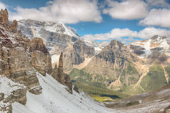 Spires, Paradise Valley, Banff National Park Royalty Free Stock Image