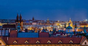 Spires and Rooftops, Old Town, Prague Royalty Free Stock Photography