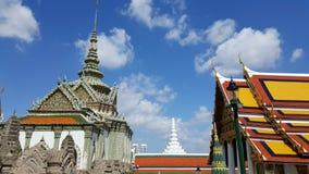 Spires of Royal Palace, Bangkok, Thailand Stock Image