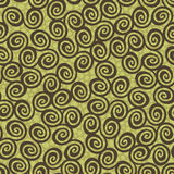 Spires seamless. Seamless background texture with many spirals and grunge effect, wallpaper pattern Vector Illustration