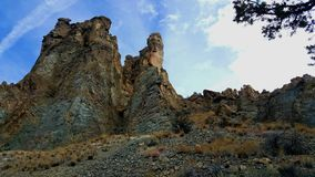 The Spires of Smith Rock stock images