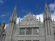 Marischal College Spires Royalty Free Stock Images