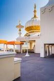 Spires at the Trump Taj Mahal in Atlantic City, New Jersey. Royalty Free Stock Photos