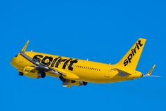 Spirit Airlines Royalty Free Stock Image